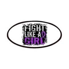Licensed Fight Like a Girl 31.8 Fibromyalg Patches