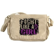 Licensed Fight Like a Girl 31.8 Fibr Messenger Bag