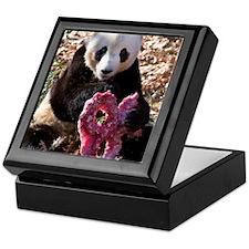 Panda With Treat Keepsake Box