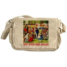 Off With Her Head! Messenger Bag
