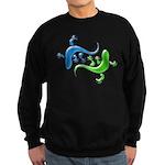Dual Geckos Sweatshirt (dark)