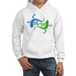 Dual Geckos Hooded Sweatshirt