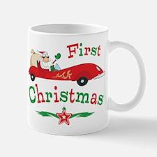 Race Santa 1st Christmas Mug