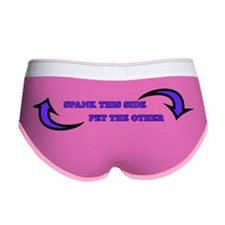 Pet this side, Spank the other Women's Boy Brief
