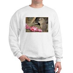 Chipmunk Next to Present Sweatshirt