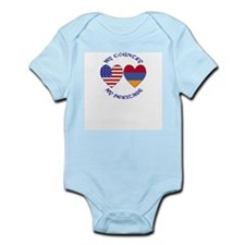 Armenia / USA Country Heritage Infant Bodysuit