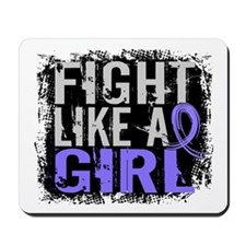 Licensed Fight Like a Girl 31.8 Esophage Mousepad