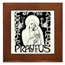Comforter of the Afflicted Framed Tile