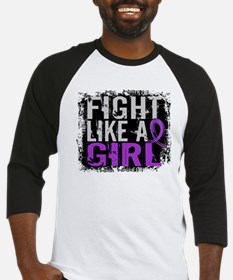 Licensed Fight Like a Girl 31.8 Ep Baseball Jersey