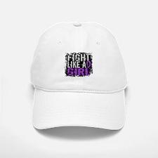 Licensed Fight Like a Girl 31.8 Epilepsy Baseball Baseball Cap