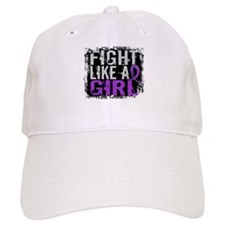 Licensed Fight Like a Girl 31.8 Epilepsy Baseball Cap