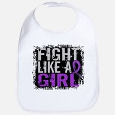 Licensed Fight Like a Girl 31.8 Epilepsy Bib