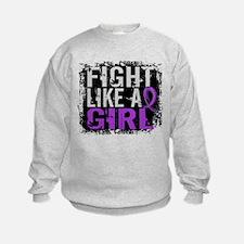 Licensed Fight Like a Girl 31.8 Ep Sweatshirt