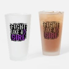 Licensed Fight Like a Girl 31.8 Epi Drinking Glass