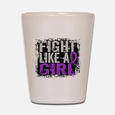 Licensed Fight Like a Girl 31.8 Epileps Shot Glass