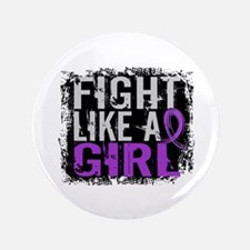 "Licensed Fight Like a Girl 31.8 Epilep 3.5"" Button"