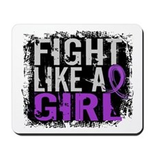 Licensed Fight Like a Girl 31.8 Epilepsy Mousepad