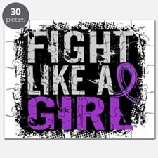 Licensed Fight Like a Girl 31.8 Epilepsy Puzzle