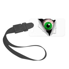 Eyeball Luggage Tag