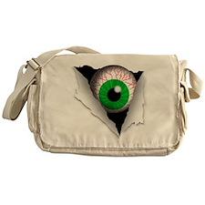 Eyeball Messenger Bag