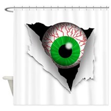Eyeball Shower Curtain