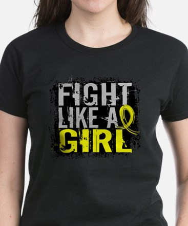 Licensed Fight Like a Girl 31 Women's Dark T-Shirt
