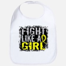 Licensed Fight Like a Girl 31.8 Endometriosis Bib