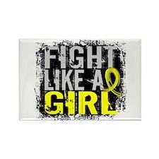 Fight Like a Girl 31.8 Endometriosis Rectangle Mag