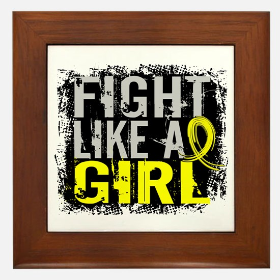 Licensed Fight Like a Girl 31.8 Endome Framed Tile