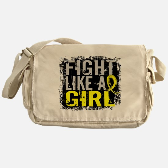 Licensed Fight Like a Girl 31.8 Endo Messenger Bag