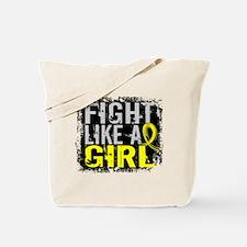 Licensed Fight Like a Girl 31.8 Endometri Tote Bag