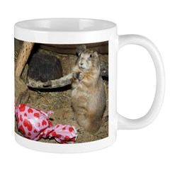 Chipmunk With Present Mug