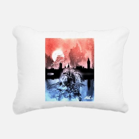 Shoggoths of London Rectangular Canvas Pillow
