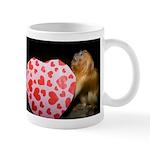 Tamarin With Valentines Gift Mug