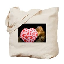 Tamarin With Valentines Gift Tote Bag