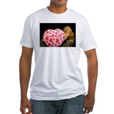Tamarin With Valentines Gift Fitted T-Shirt