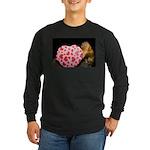 Tamarin With Valentines Gift Long Sleeve Dark T-Sh