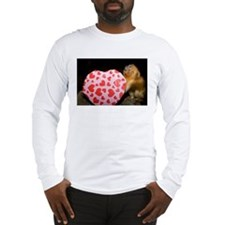 Tamarin With Valentines Gift Long Sleeve T-Shirt