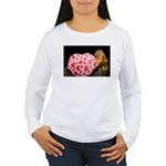 Tamarin With Valentines Gift Women's Long Sleeve T