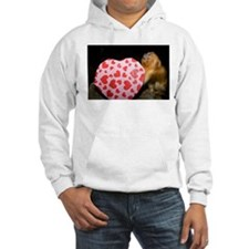 Tamarin With Valentines Gift Hooded Sweatshirt