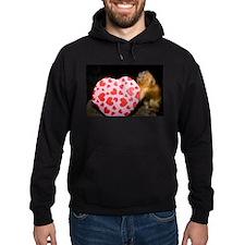 Tamarin With Valentines Gift Hoodie (dark)