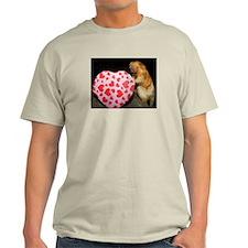 Tamarin With Heart Present Light T-Shirt
