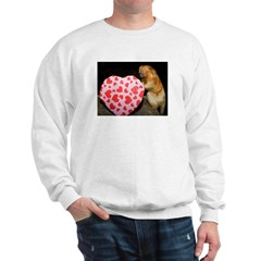 Tamarin With Heart Present Sweatshirt