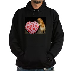Tamarin With Heart Present Hoodie