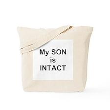 Intact Son Tote Bag