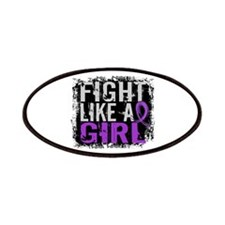 Licensed Fight Like a Girl 31.8 Cystic Fibro Patch