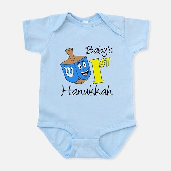 Babys First Hanukkah Infant Bodysuit