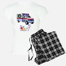 EMT Paramedic Holiday Greetings Pajamas