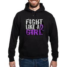 Fight Like a Girl 31.8 Crohn's Disease Hoodie