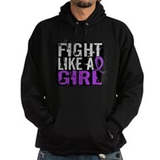 Licensed Fight Like a Girl 31.8 Croh Hoodie
